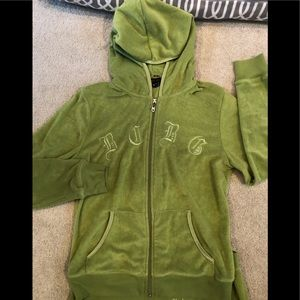 Green BCBG Track suit. Sz. Medium